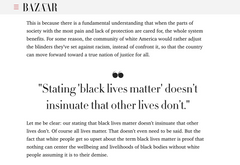 all black lives matter article examples