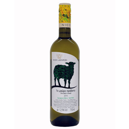 Nico Lazaridi – The Black Sheep White - White wine - wyhnez