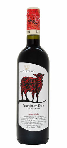 Nico Lazaridi - The Black Sheep Red - wine