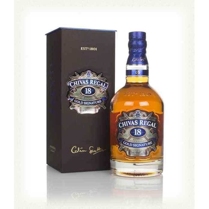 Chivas Regal 18 Year Old Whiskey - Whiskey - wyhnez