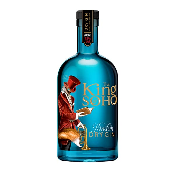 The King of Soho Dry London Gin