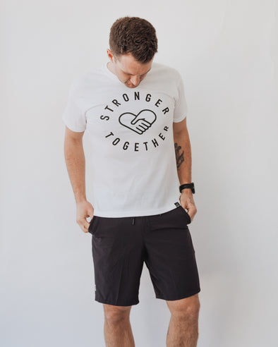 STRONGER TOGETHER T-SHIRT - Leftovers Foundation x Local Laundry x YEG/YYC Cycle
