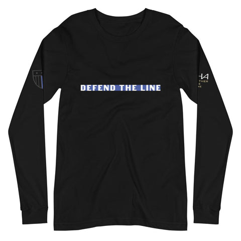 Defend The Line Long Sleeve Tee - American Heroes Apparel