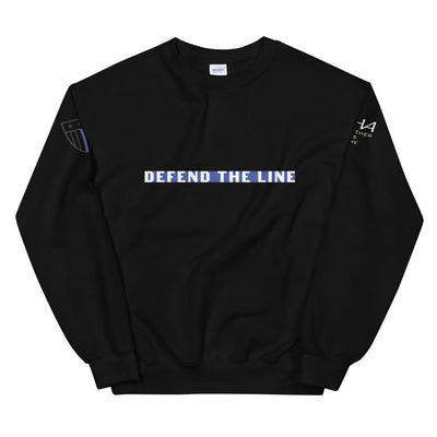 Defend the Line Unisex Sweatshirt - American Heroes Apparel