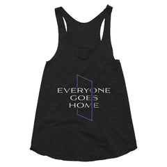 Everyone Goes Home Racerback Tank - American Heroes Apparel