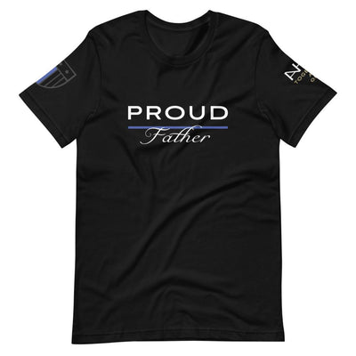 Proud Police Father T-Shirt - American Heroes Apparel