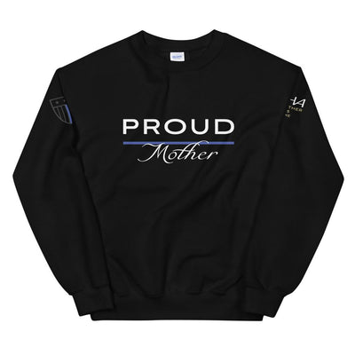 Proud Police Mother Sweatshirt - American Heroes Apparel