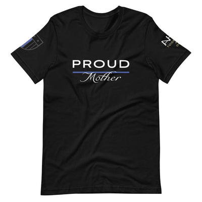 Proud Police Mother T-Shirt - American Heroes Apparel