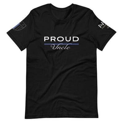Proud Police Uncle T-Shirt - American Heroes Apparel