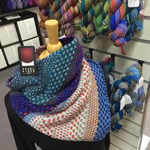 Load image into Gallery viewer, The Shift cowl - 3 skeins used
