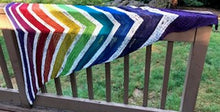 Load image into Gallery viewer, Rainbow Bridge Shawl