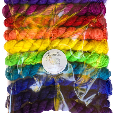 Superwash Merino/Nylon set