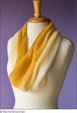Load image into Gallery viewer, Plume Cowl (free pattern)