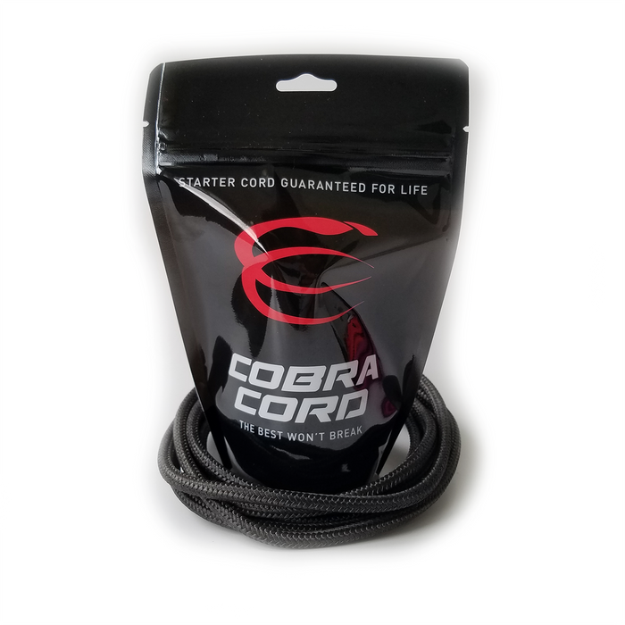 SNOWMOBILE COBRA CORD-BLACK