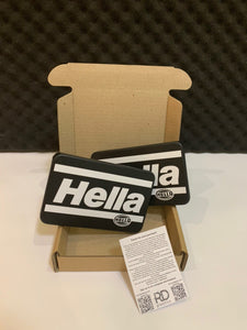 RARE Hella Style USA Headlight Covers BMW Taifun VW Scirocco grill e30 golf mk2