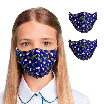 Fun & Cheery Holiday Face Masks for Kids - primewareinc