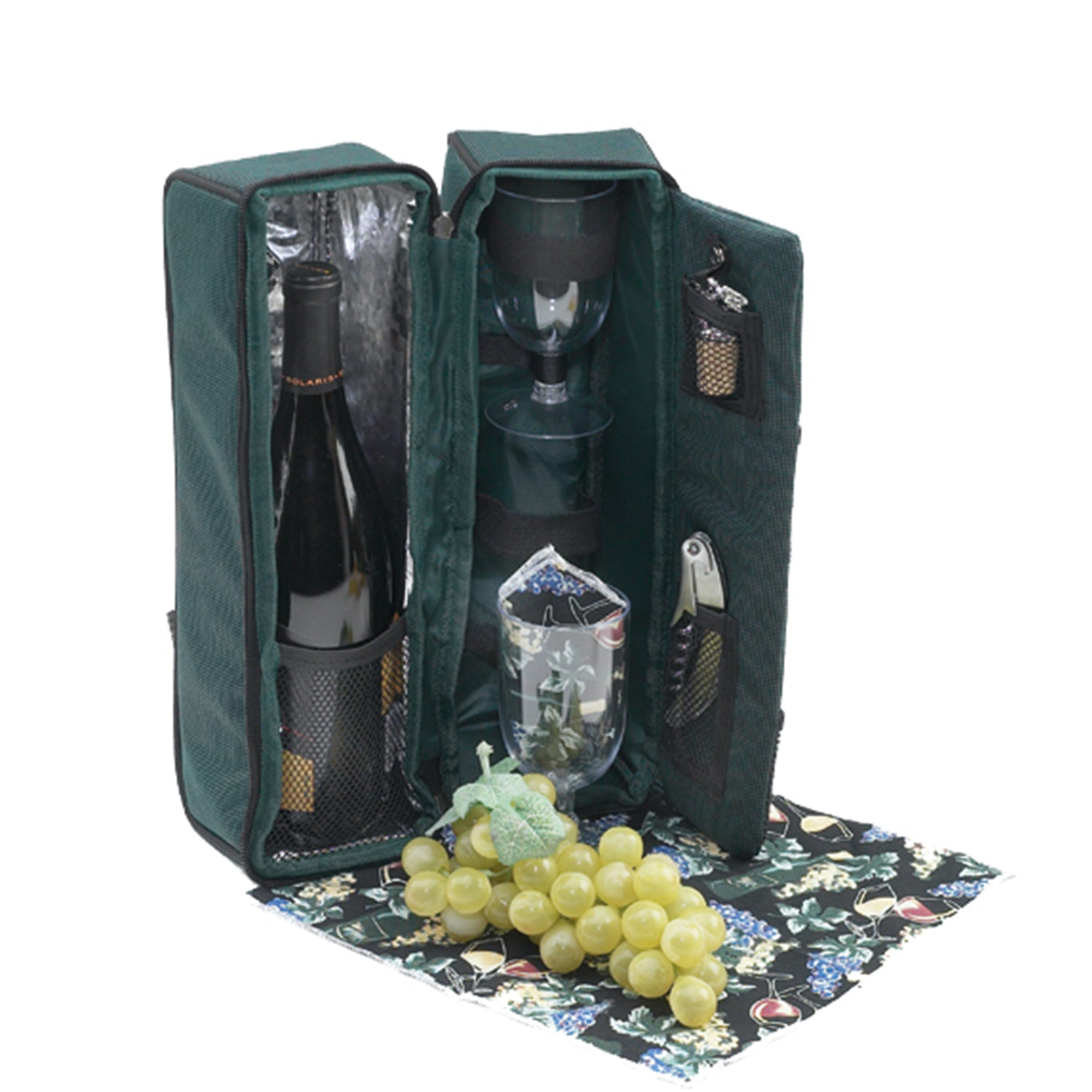 Two Person Wine Tote Solana  Design - primewareinc
