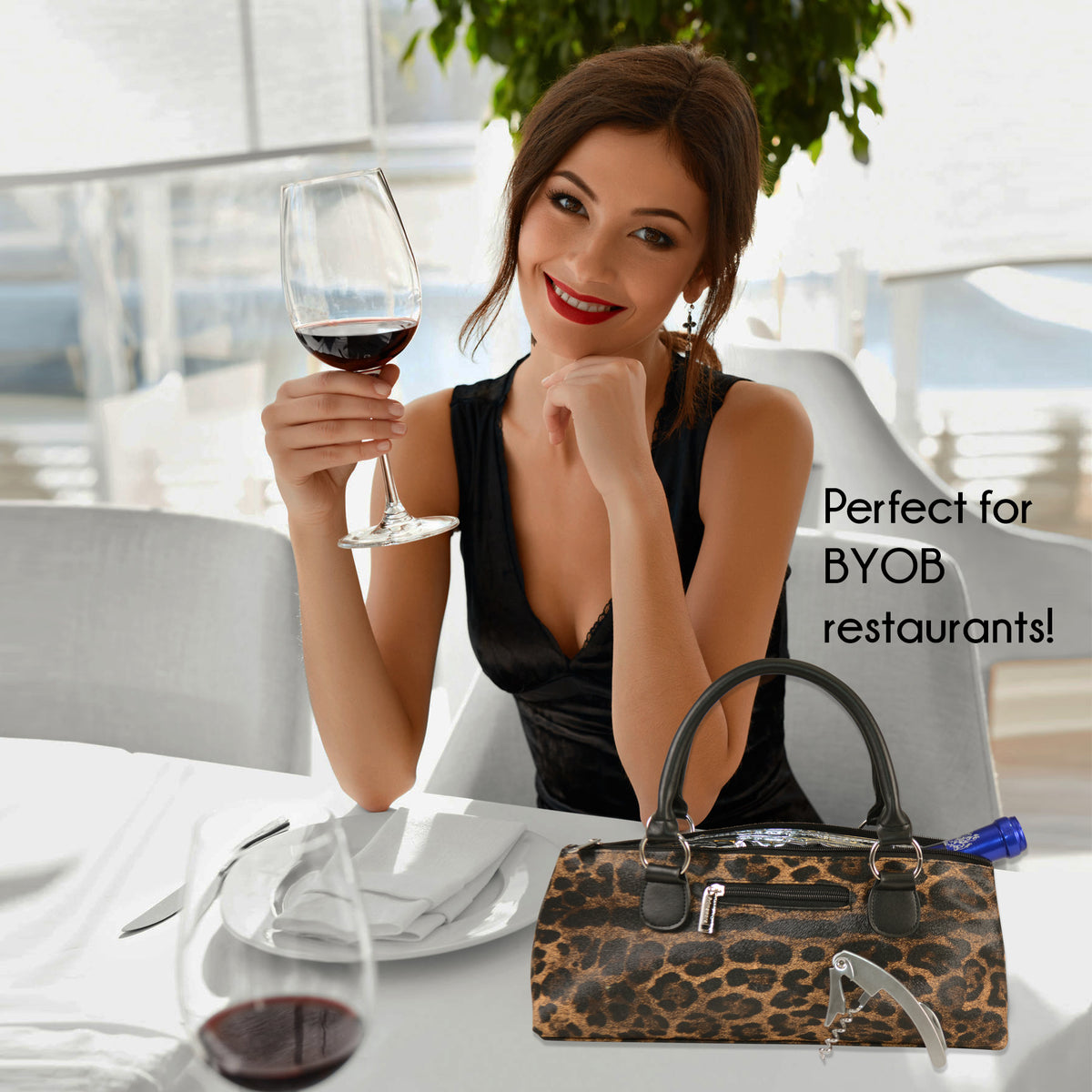 Wine Clutch Safari Design - Primeware Inc.