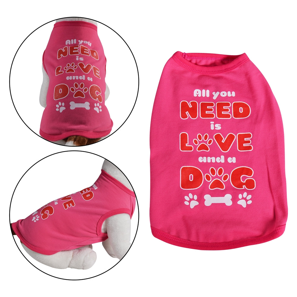 All you Need is Love and a Dog | Dog Shirt - Primeware Inc.