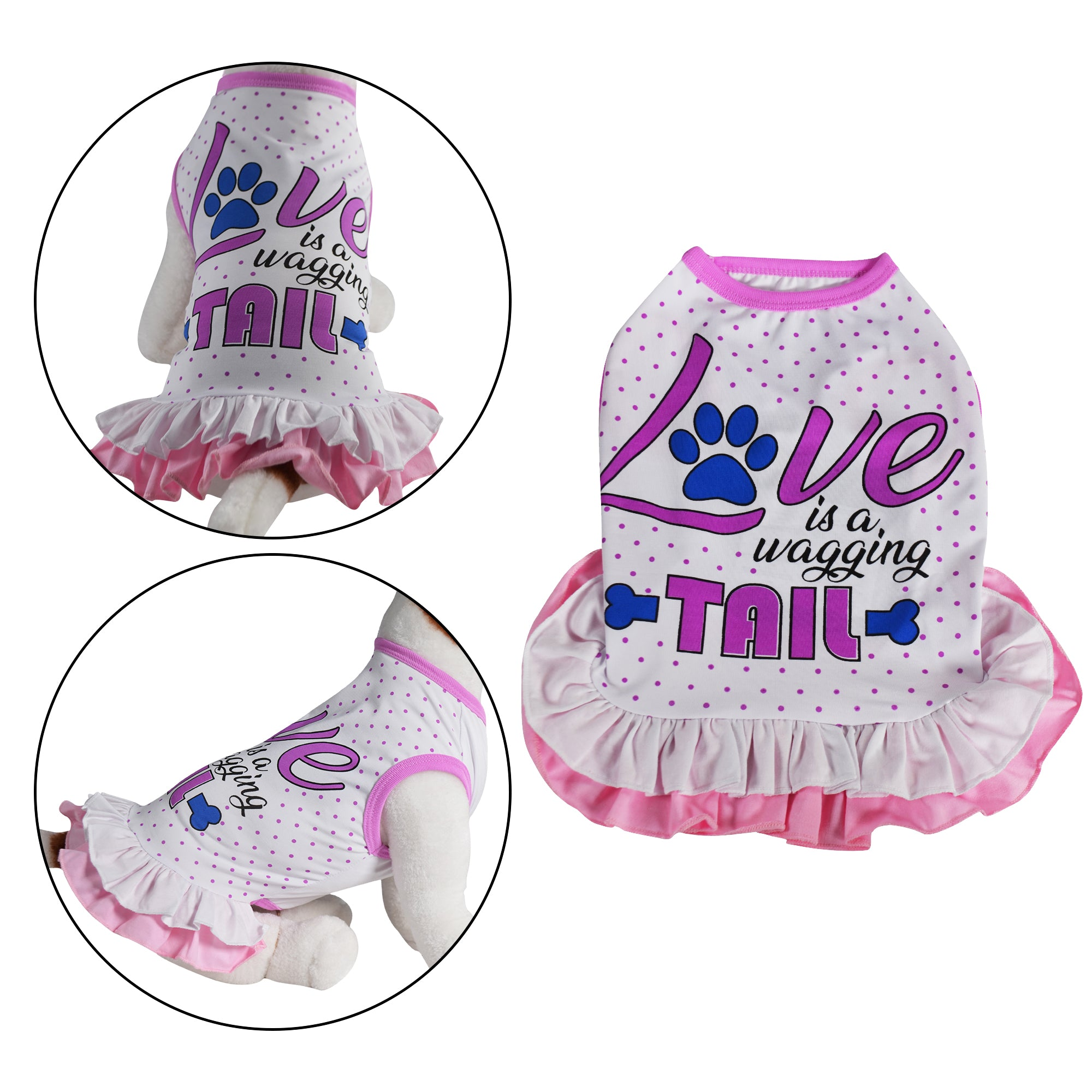 Love Is A Wagging Tail Dog Dress - primewareinc