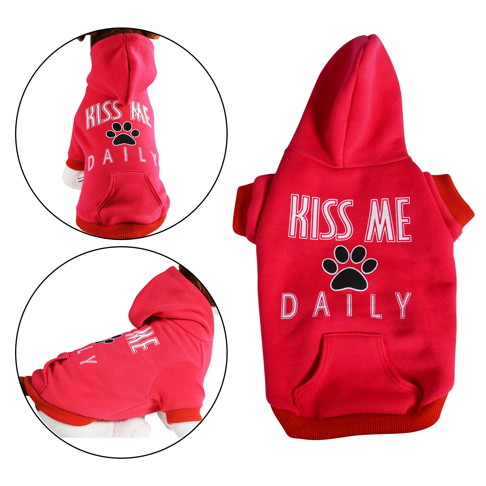 Kiss Me Daily Dog Sweatshirt - primewareinc