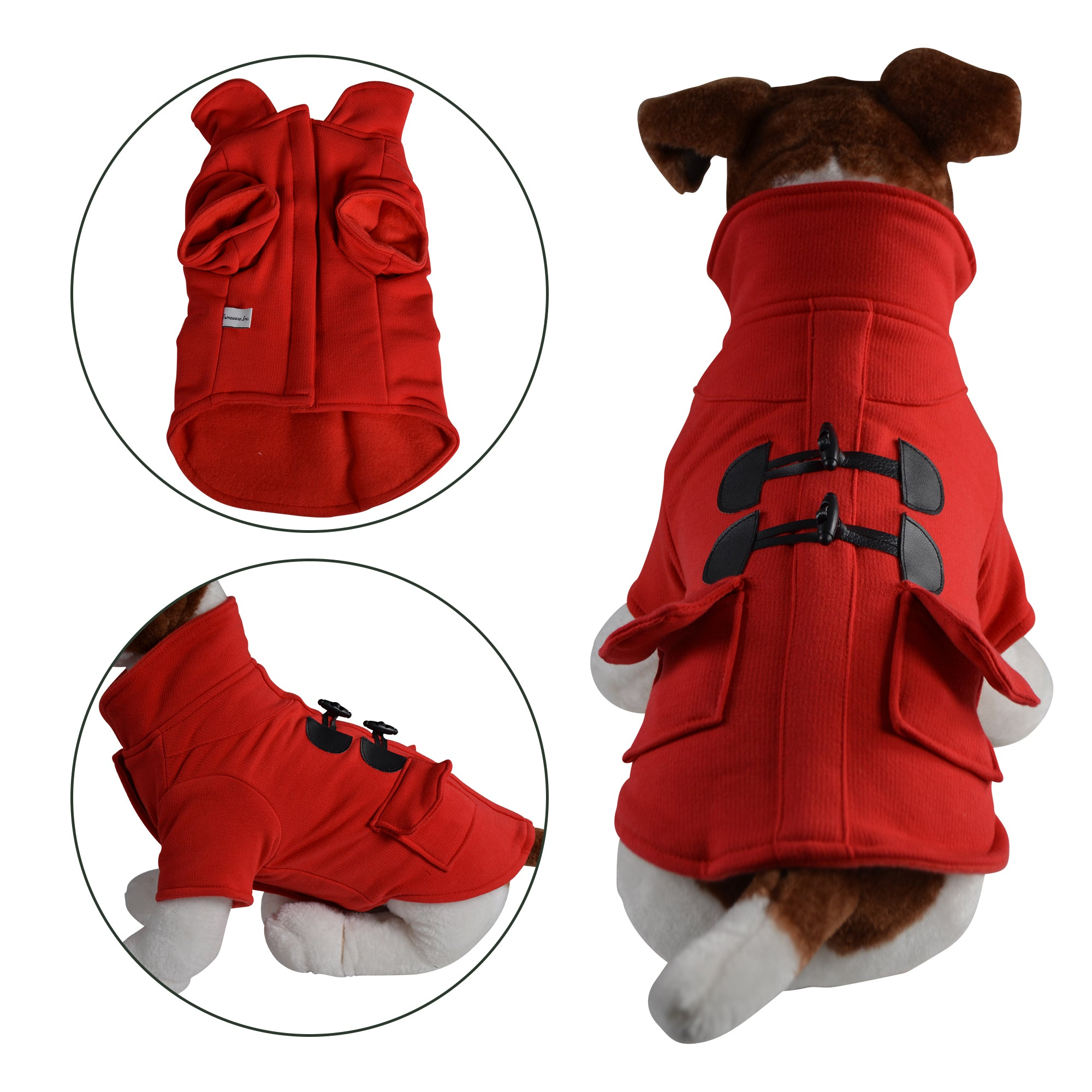 Warm Stylish Duffle Dog Coat - Primeware Inc.