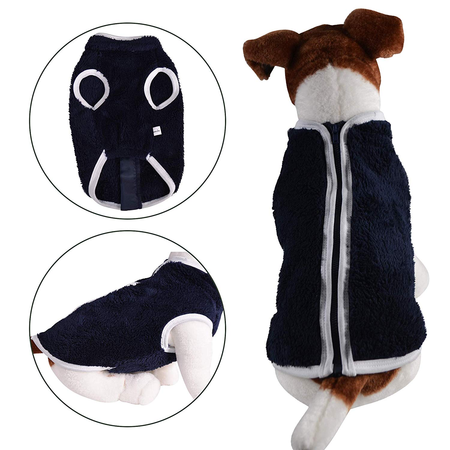 Faux Sheep Fur | Dog Vest - primewareinc