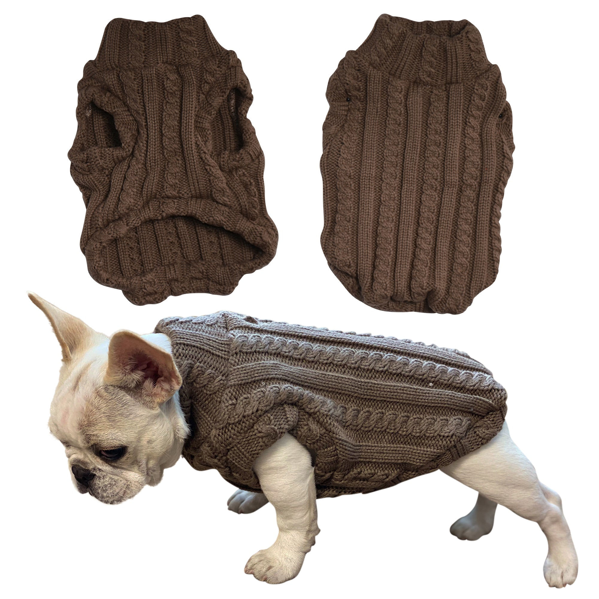Turtleneck Dog Sweater - primewareinc