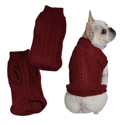 Turtleneck Dog Sweater - Primeware Inc.