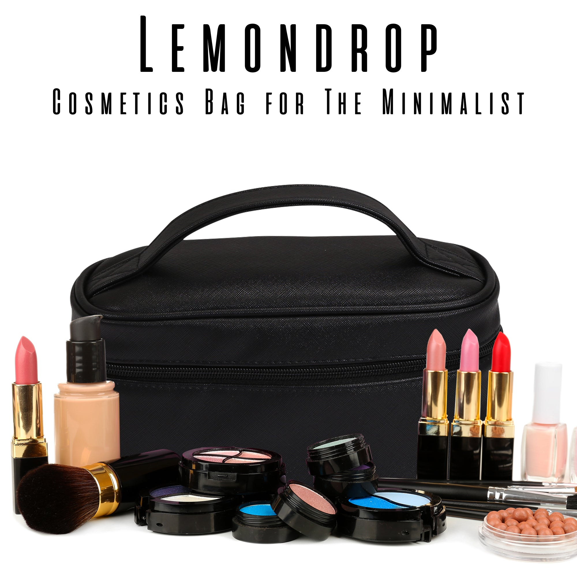 Cosmetics Bag Lemondrop Design - primewareinc