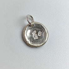 Load image into Gallery viewer, SLOTH Sterling Silver, Charm Necklace with Sentiment Card