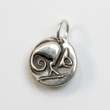 Load image into Gallery viewer, ADAPT AND OVERCOME  Sterling SIlver Chameleon Charm