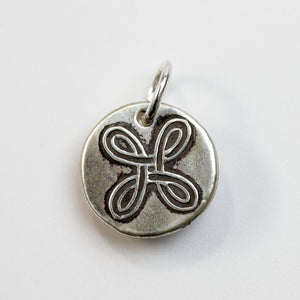 MOTHER'S DAY: FRIENDSHIP KNOT Sterling Silver Knot Charm