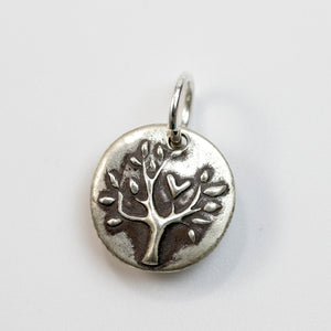 THE ONE THING Sterling Silver Family Tree Charm
