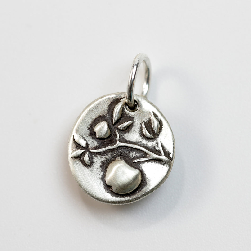 GOOD THINGS Sterling Fruit Tree Charm
