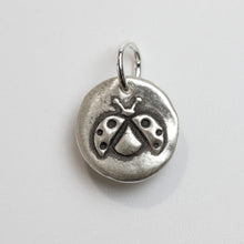 Load image into Gallery viewer, FLY AWAY Sterling SIlver Ladybug Charm
