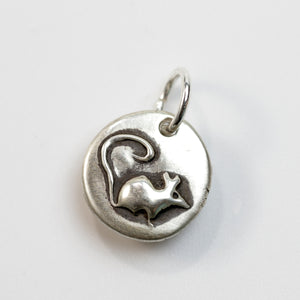 LITTLE DETAILS Sterling Silver Mouse Charm