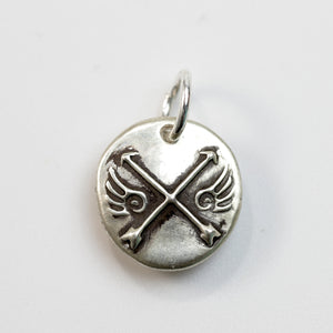 SOUL SISTERS Sterling Silver Arrow Charm