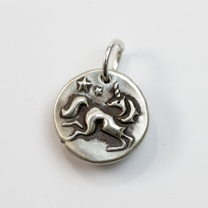 YOUR SPARKLE Sterling Silver Unicorn Charm