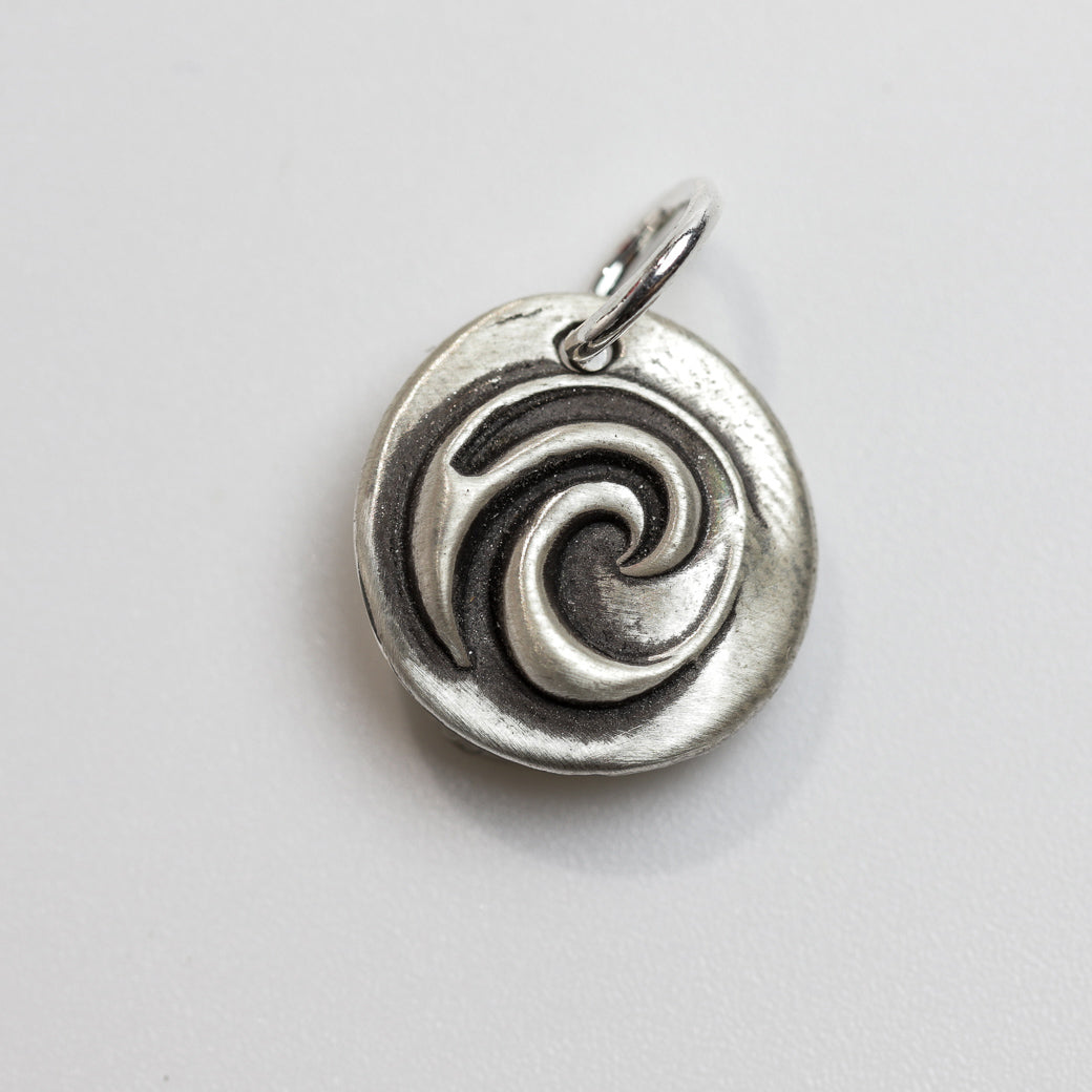 TIDES Sterling Silver Wave Charm