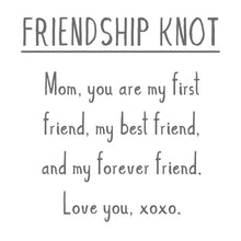 Load image into Gallery viewer, MOTHER'S DAY: FRIENDSHIP KNOT Sterling Silver Knot Charm