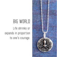 Load image into Gallery viewer, OCTOPUS Sterling Silver, Charm Necklace with Sentiment Card