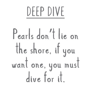 DIVE DEEP Sterling Silver Shell Charm