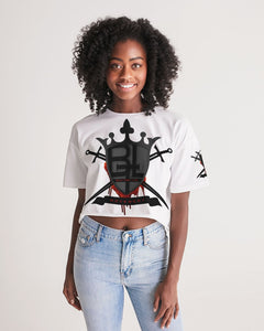 BTL Logo Women's Lounge Cropped Tee