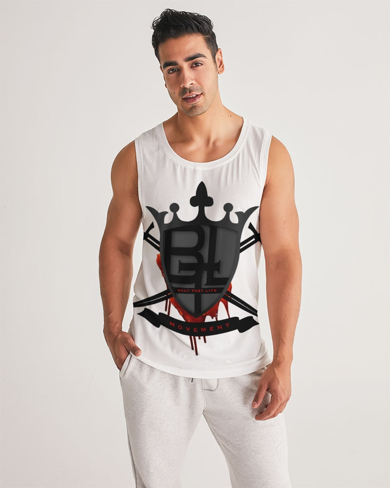 BTL Logo 1000 Men's Sports Tank