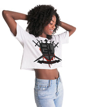 Load image into Gallery viewer, BTL Logo Women's Lounge Cropped Tee