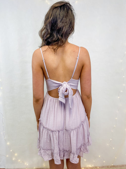 Forget Me Not Dress in Lilac