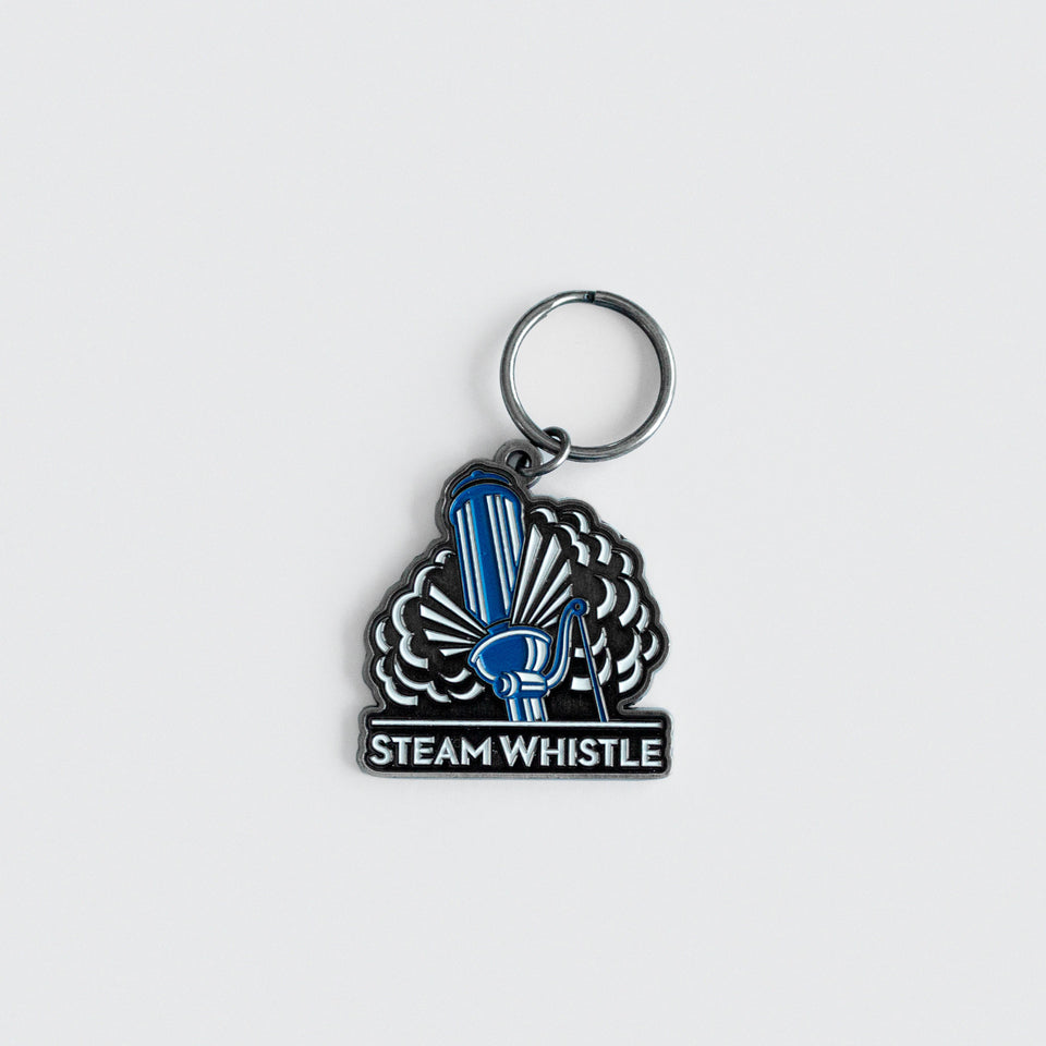 Steam Whistle Keychain