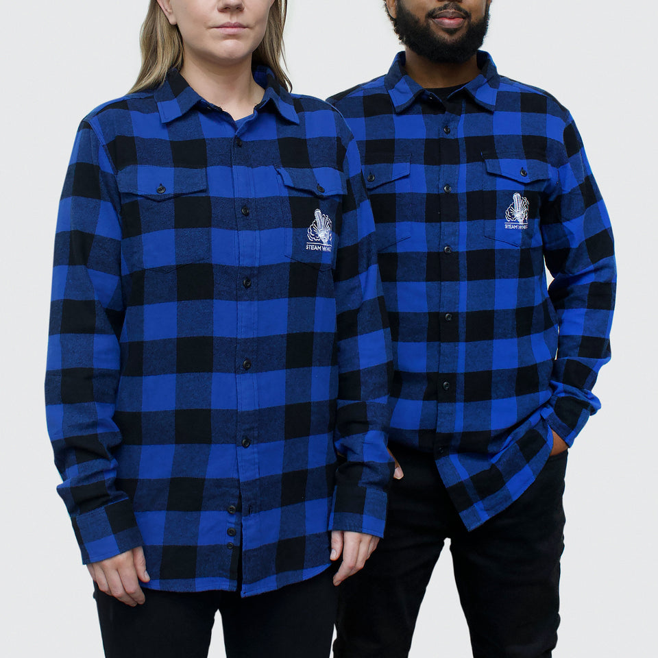 Steam Whistle Flannel Button-up