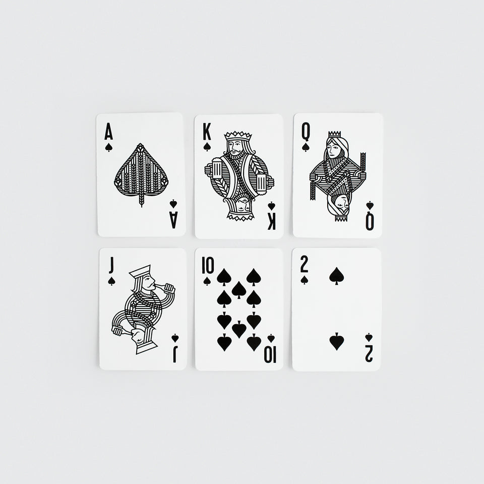 Steam Whistle Playing Cards